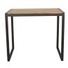 Table haute mange debout metal et bois