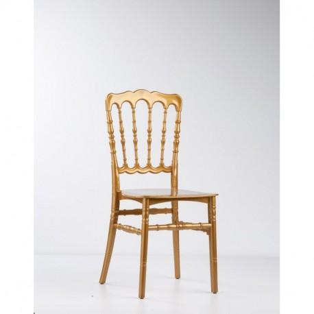 Chaise Napoleon blanche à louer