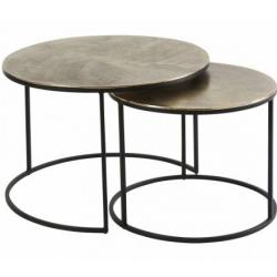 Location table basse cuivrée