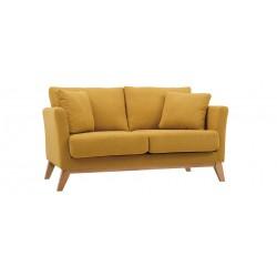 Location canapé jaune moutarde