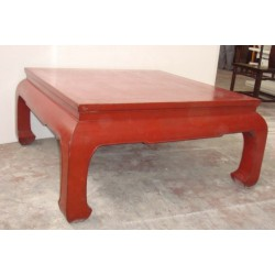 Location table basse en bois chinoise