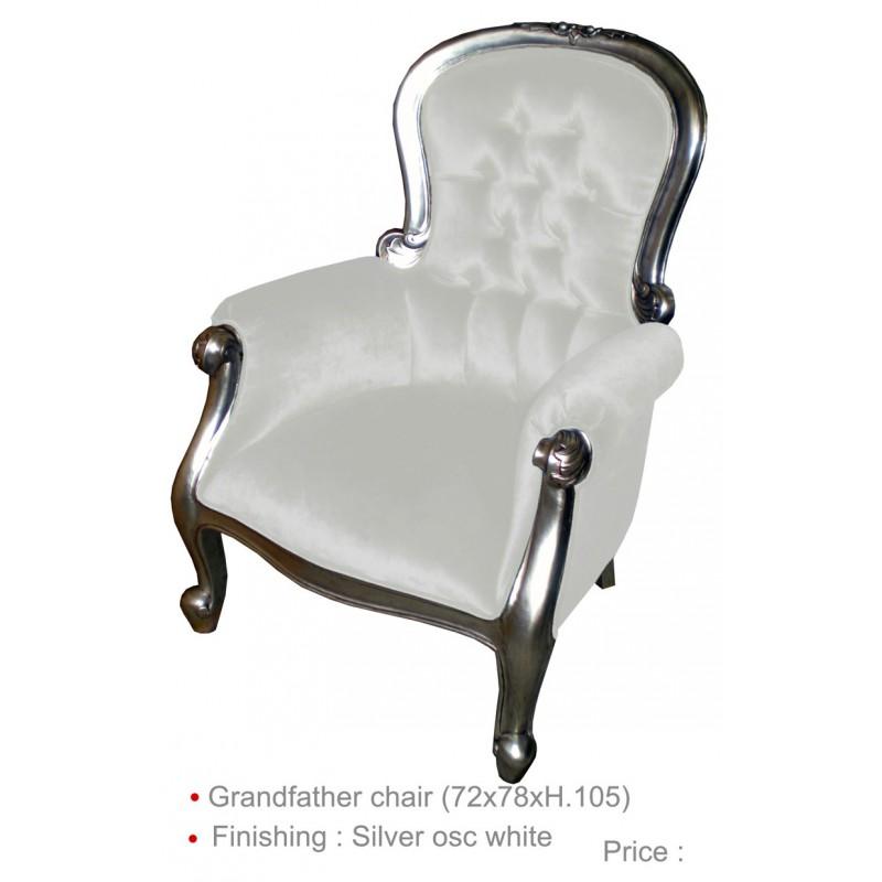 louer fauteuil cuir blanc sur d co priv. Black Bedroom Furniture Sets. Home Design Ideas