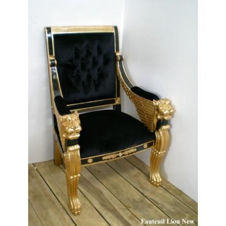 fauteuils style baroque ou empire pour v nements. Black Bedroom Furniture Sets. Home Design Ideas