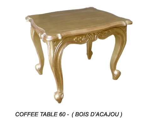 Table Basse Doree