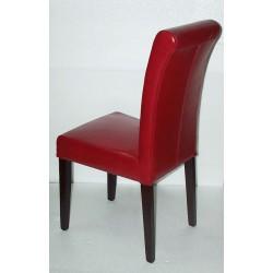 Location Chaise En Cuir Modele Ella En Cuir Rouge