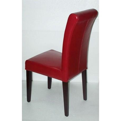 Location Chaise En Cuir Modele Ella En Cuir Rouge Location de meubles