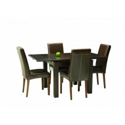 Location Table de r'ception Table De Repas Carree En Bois Colori