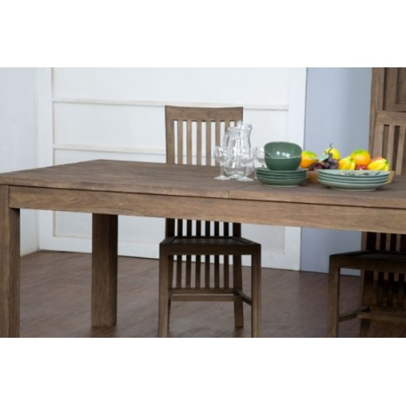 Table De Repas En Teck Massif 180 X 90 Cm