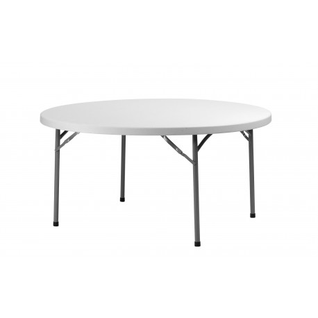 Table ronde pliante 150 CM