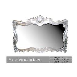 Miroir Baroque En Bois Argente Versailles