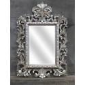 Miroir En Bois Argente Beauty