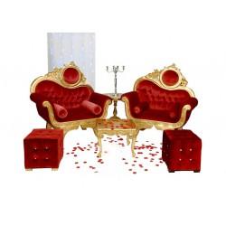 Location mobilier mariage Pack Victoria 1 place dor' et velours