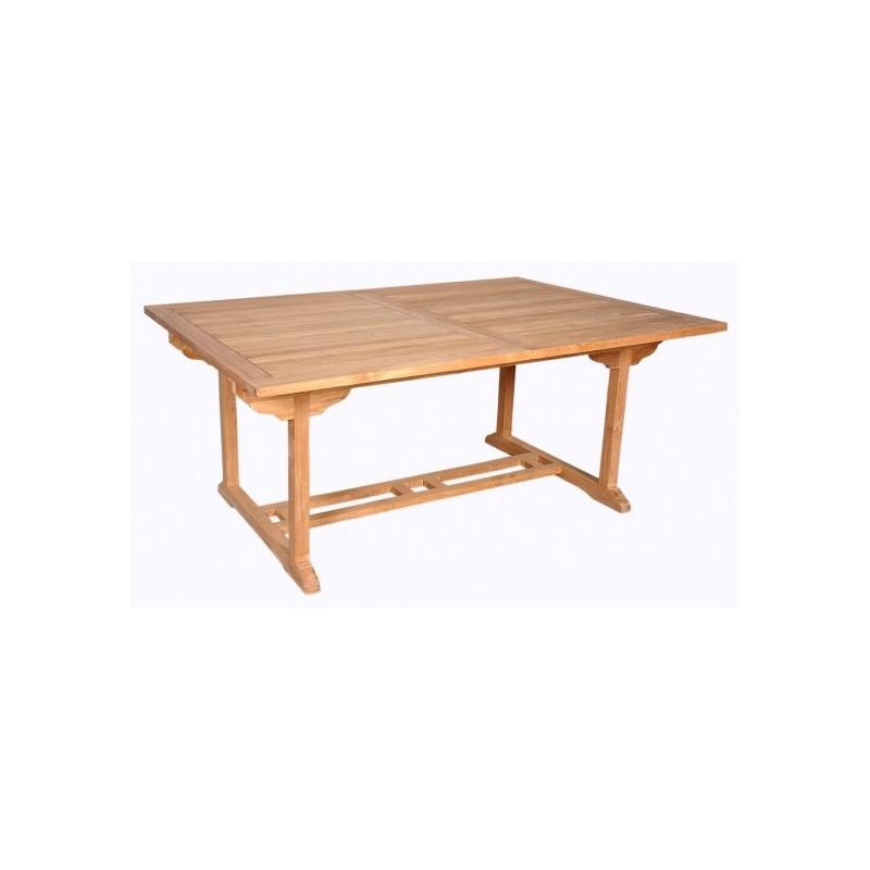 Table Jardin Teck Rectangulaire Des Id Es