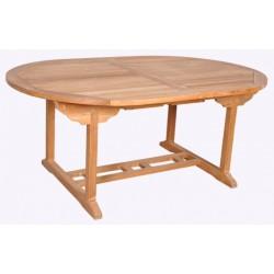 Location Table De Jardin En Teck 8 Couverts Modele Corfou