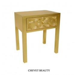 Location Chevet Baroque En Bois Doré Modele Beauty