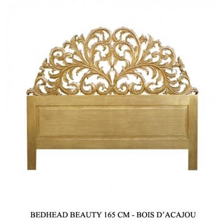 Tete de lit en or pour d coration r ussie - Modele tete de lit en bois ...