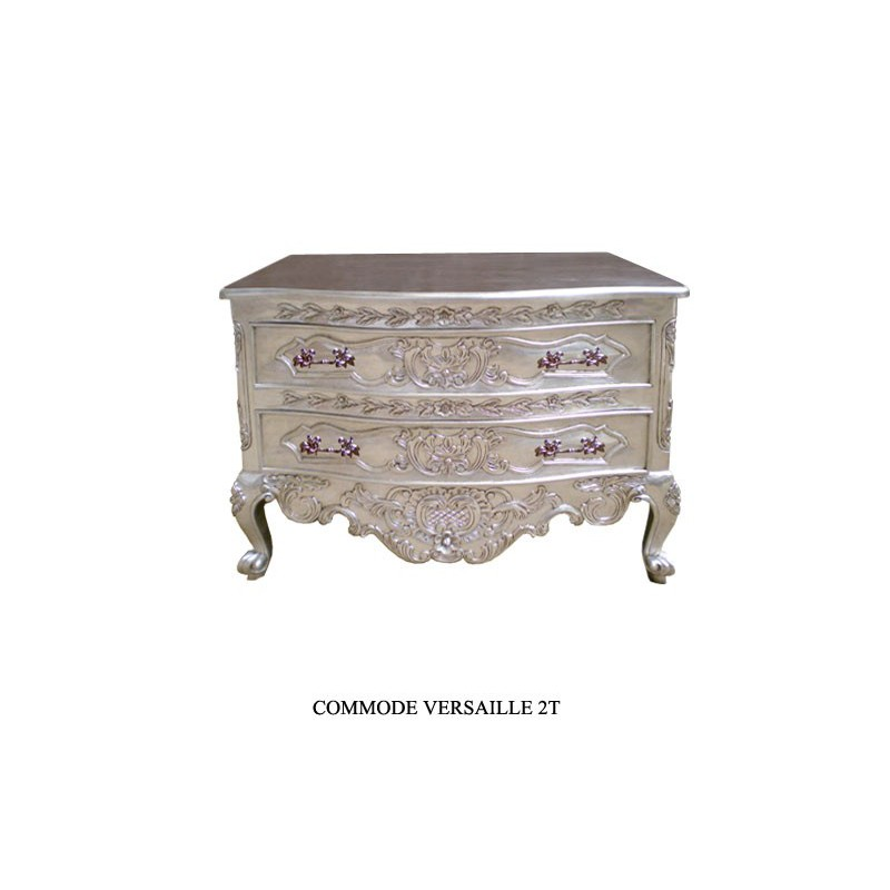 126 events commode royale baroque en argent. Black Bedroom Furniture Sets. Home Design Ideas