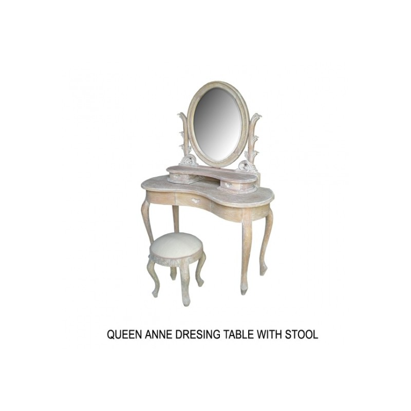 coiffeuse en bois pour coin maquillage. Black Bedroom Furniture Sets. Home Design Ideas