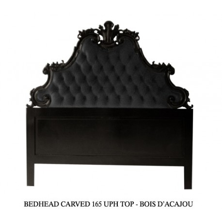 tete de lit bois e noire. Black Bedroom Furniture Sets. Home Design Ideas
