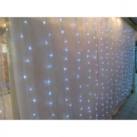 Location rideaux lumineux blanc et leds