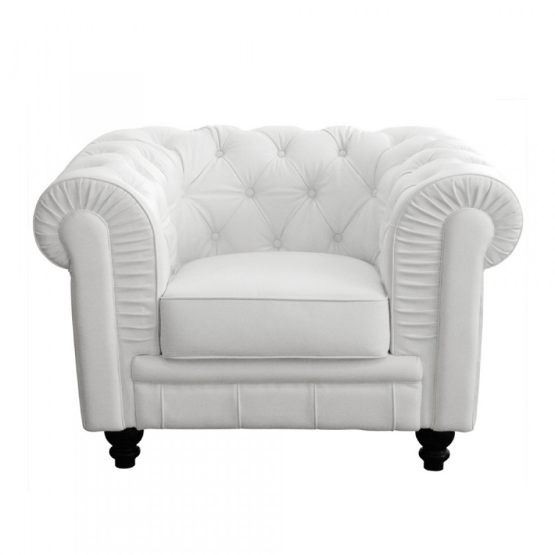 d co priv location fauteuil chesterfield cuir blanc. Black Bedroom Furniture Sets. Home Design Ideas