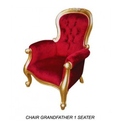 Location fauteuil rouge