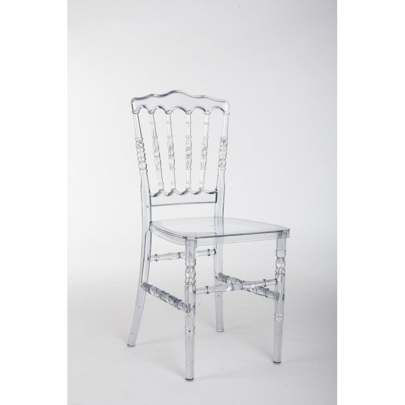 Location chaise incolore pour congr s et banquet - Chaise medaillon transparente ...