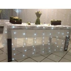 Rideaux lumineux pour table
