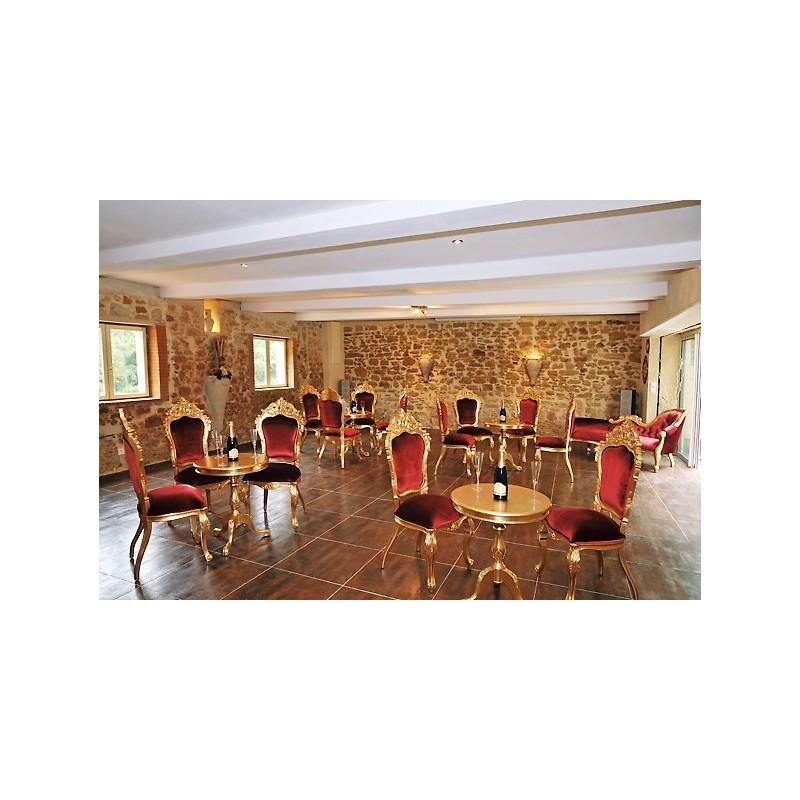 location chaise et mobilier mariage et banquet. Black Bedroom Furniture Sets. Home Design Ideas