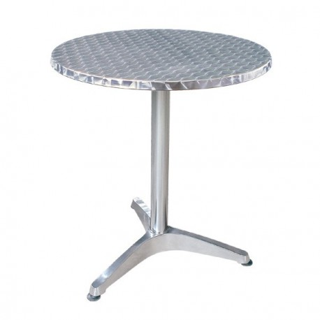 Location table reception en aluminium