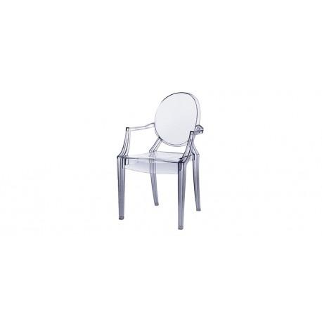 Location fauteuil Starck transparent Déco Privé