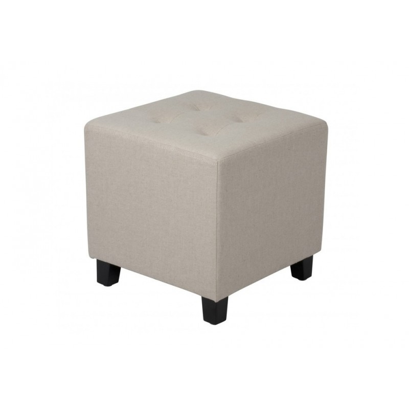 beige ce pouf est compos de lin. Black Bedroom Furniture Sets. Home Design Ideas