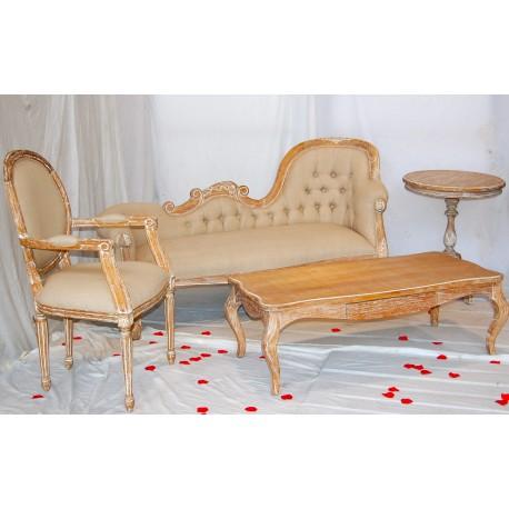Location décor de mariage cérusé