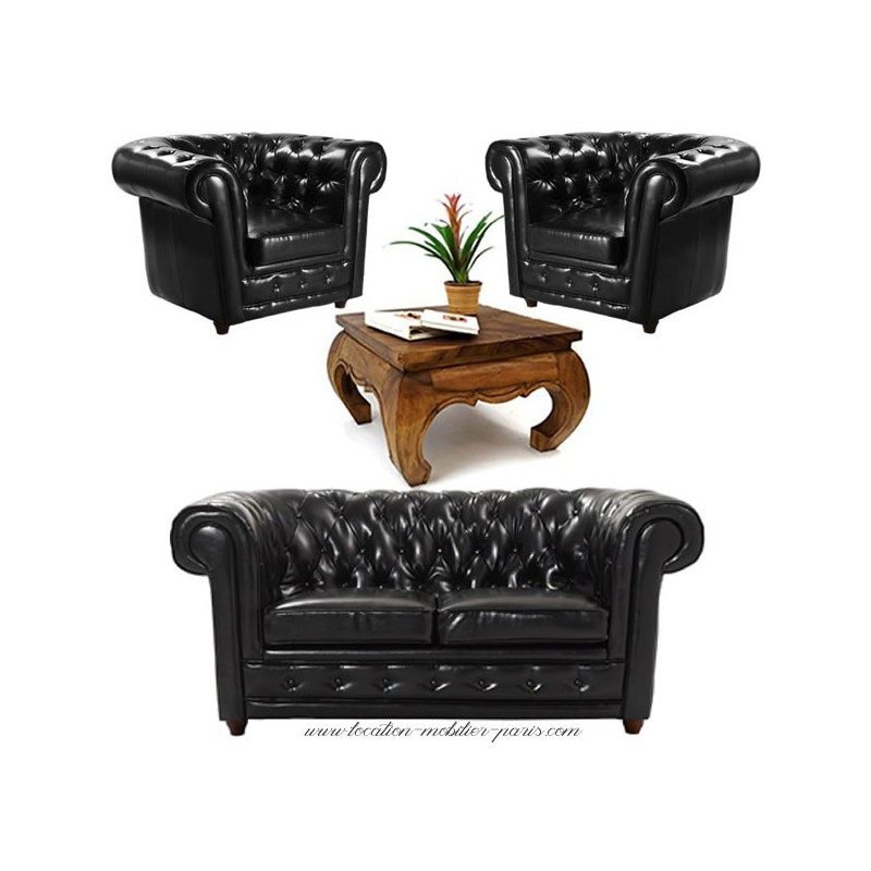 canape fauteuil chesterfield cuir accueil design et mobilier. Black Bedroom Furniture Sets. Home Design Ideas