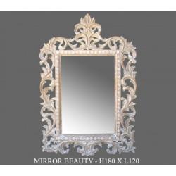 Location miroir bois