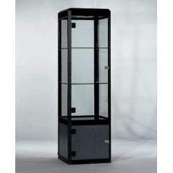 Location vitrine en verre trempé H 175 cm