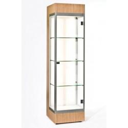 Location vitrine d'angle H 190 cm