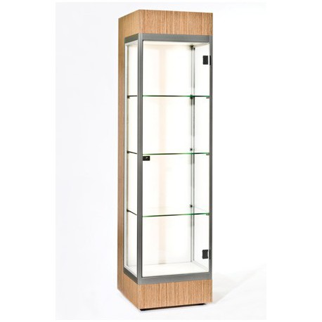 Location vitrine d'angle H 190 cm