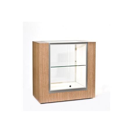 Location vitrine d'exposition basse H 100 cm