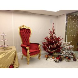 Fauteuil père Noël à louer