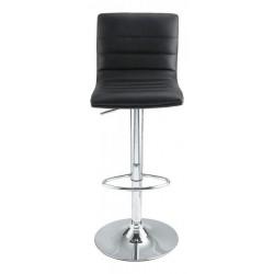 Chaise de bar cuir noir à louer