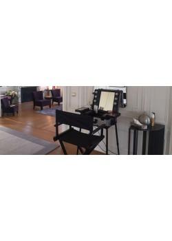 location mobilier défilé / mode - coiffeuse, fauteuil barbier ... - Location De Meubles Design