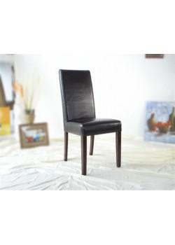Chaises faites en cuir