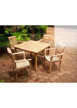Table de jardin & assises