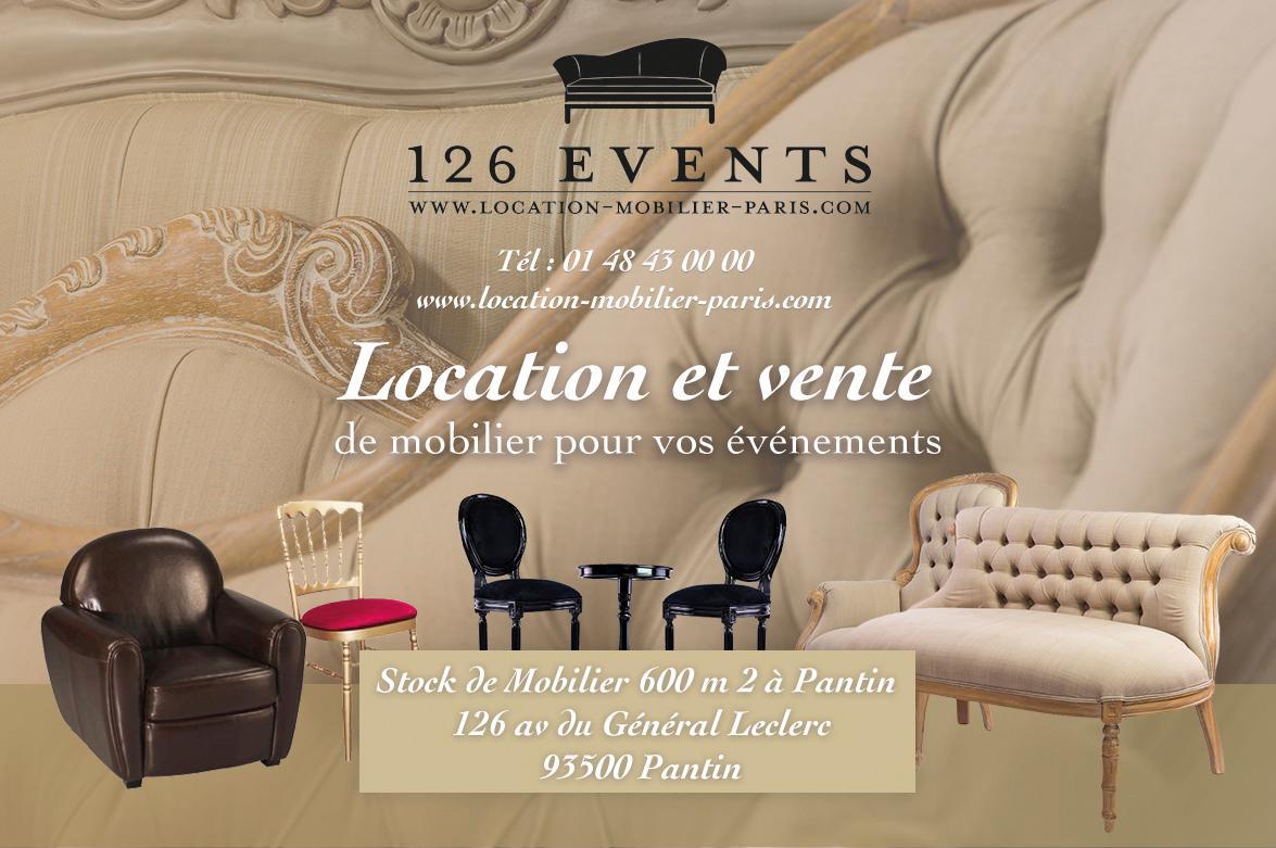 location mobilier événementiel paris