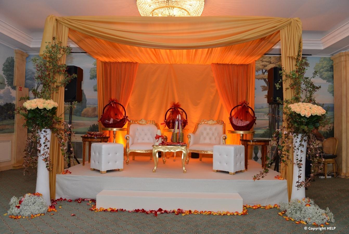 oriental wedding paris
