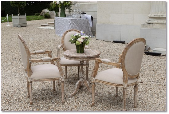 location decor salle de mariage paris