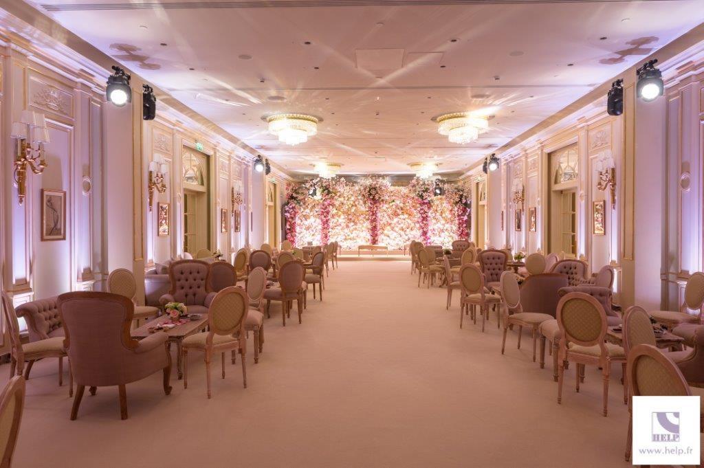 rental event furnitures in Paris France