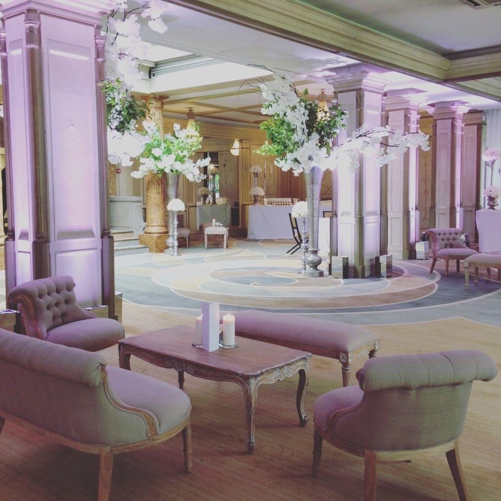 wedding rental furniture in Paris France