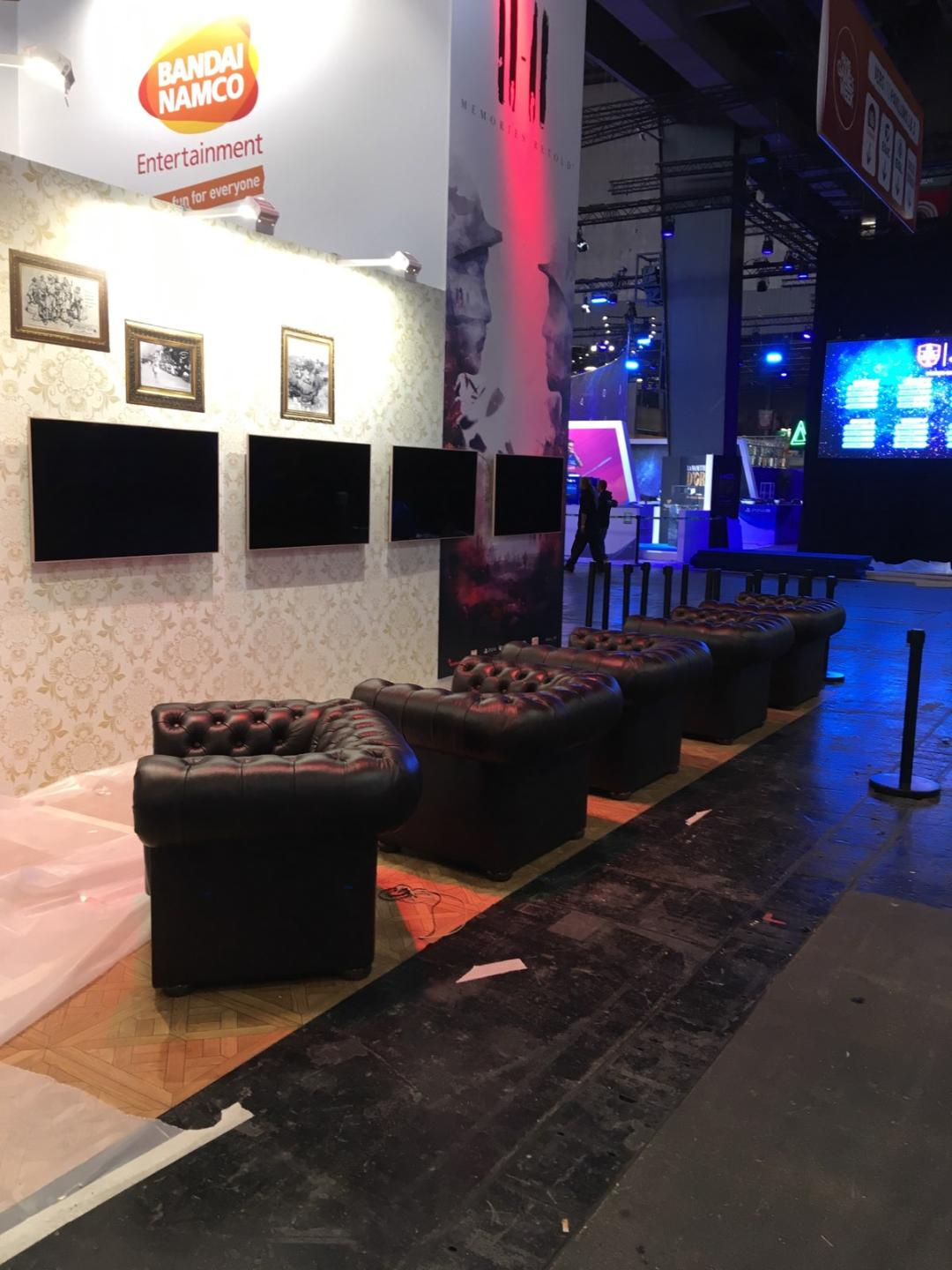 location mobilier salon jeux video paris